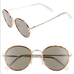 Le Specs Zephyr Deux Sunglasses Tort/Khaki Mono
